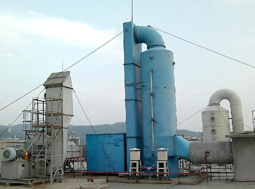 亚洲城娱乐_XNT/XST型湿式脱硫除尘